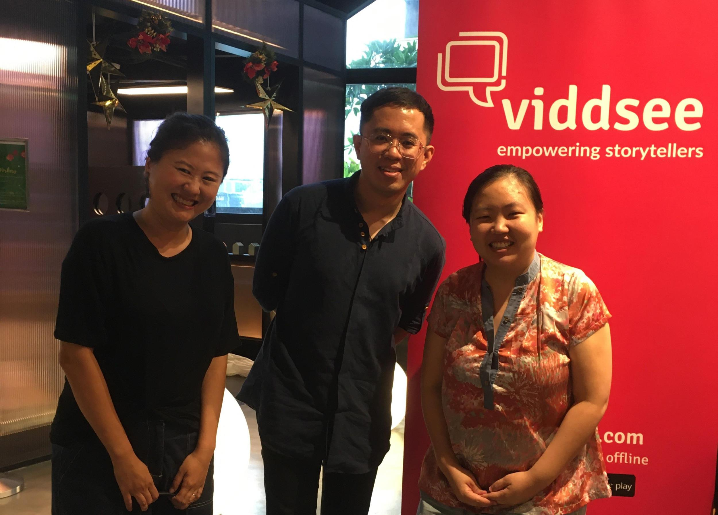 WritersLab 2019 participant Priscilla Goh at Viddsee