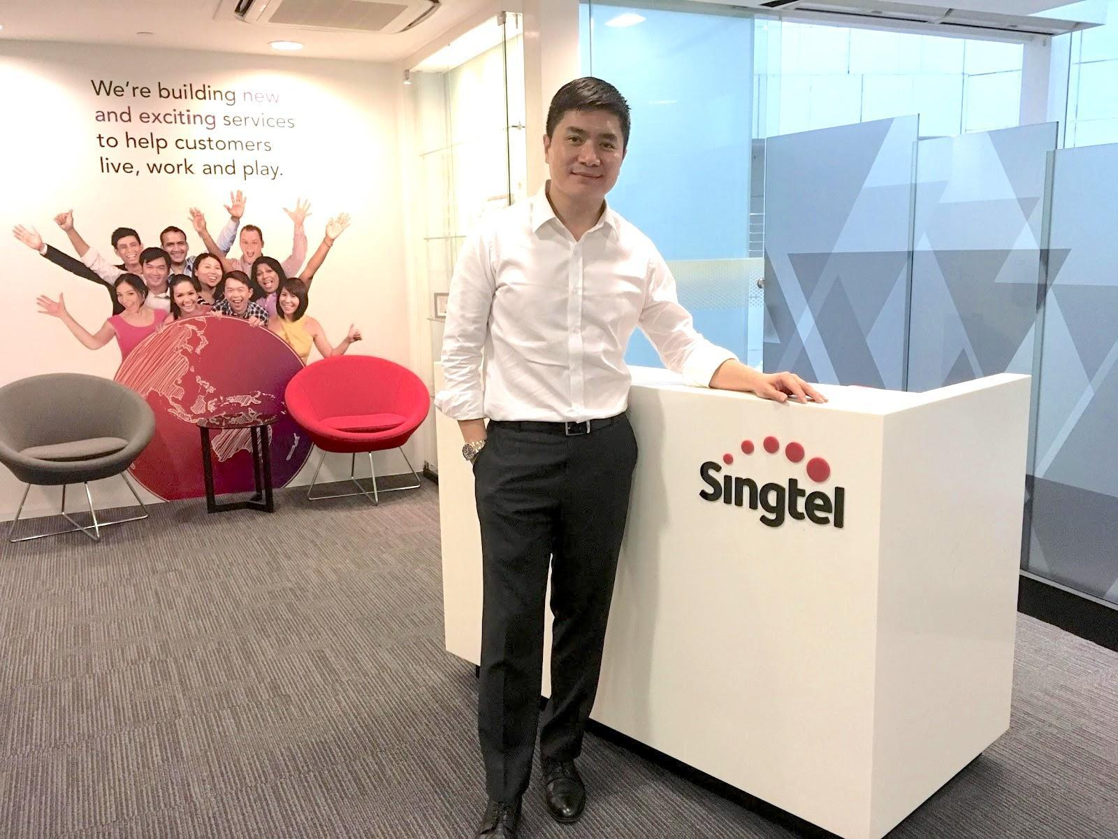 Charlton Ong, vice president of group human resources at Singtel