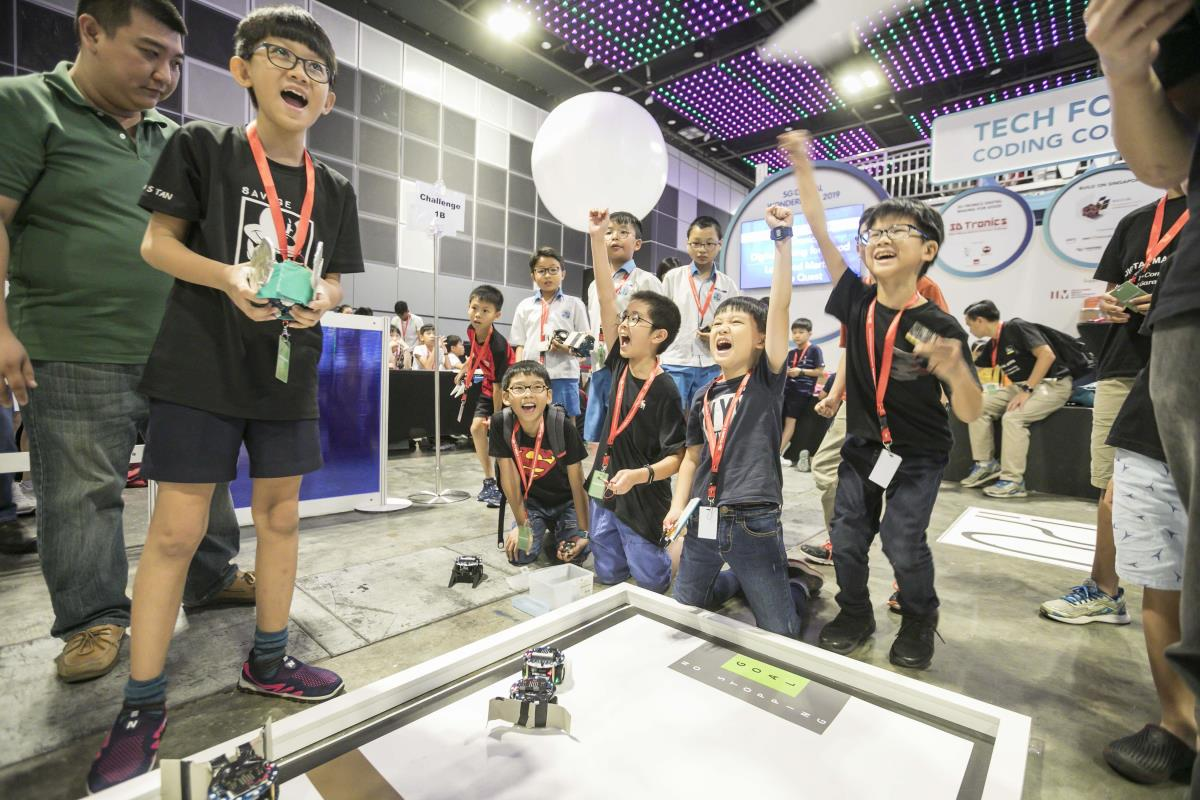 The National Infocomm Competition (NIC) is a series of infocomm-themed competitions to expose students to areas such as robotics, artificial intelligence, data science and mobile application development