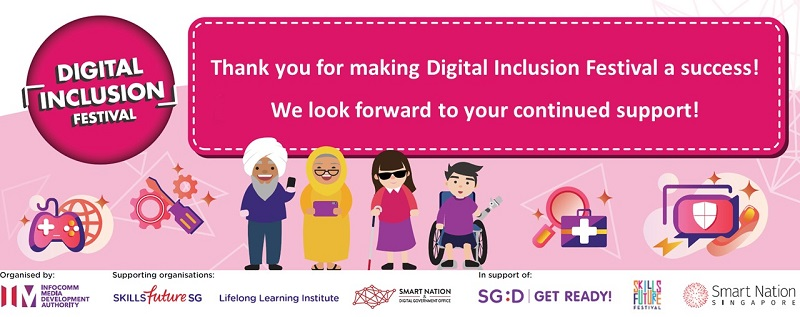 Digital Inclusion Festival banner