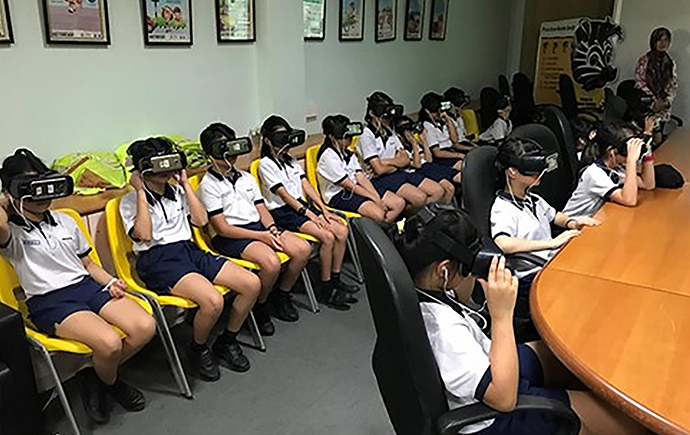 VR Enabled road safety education