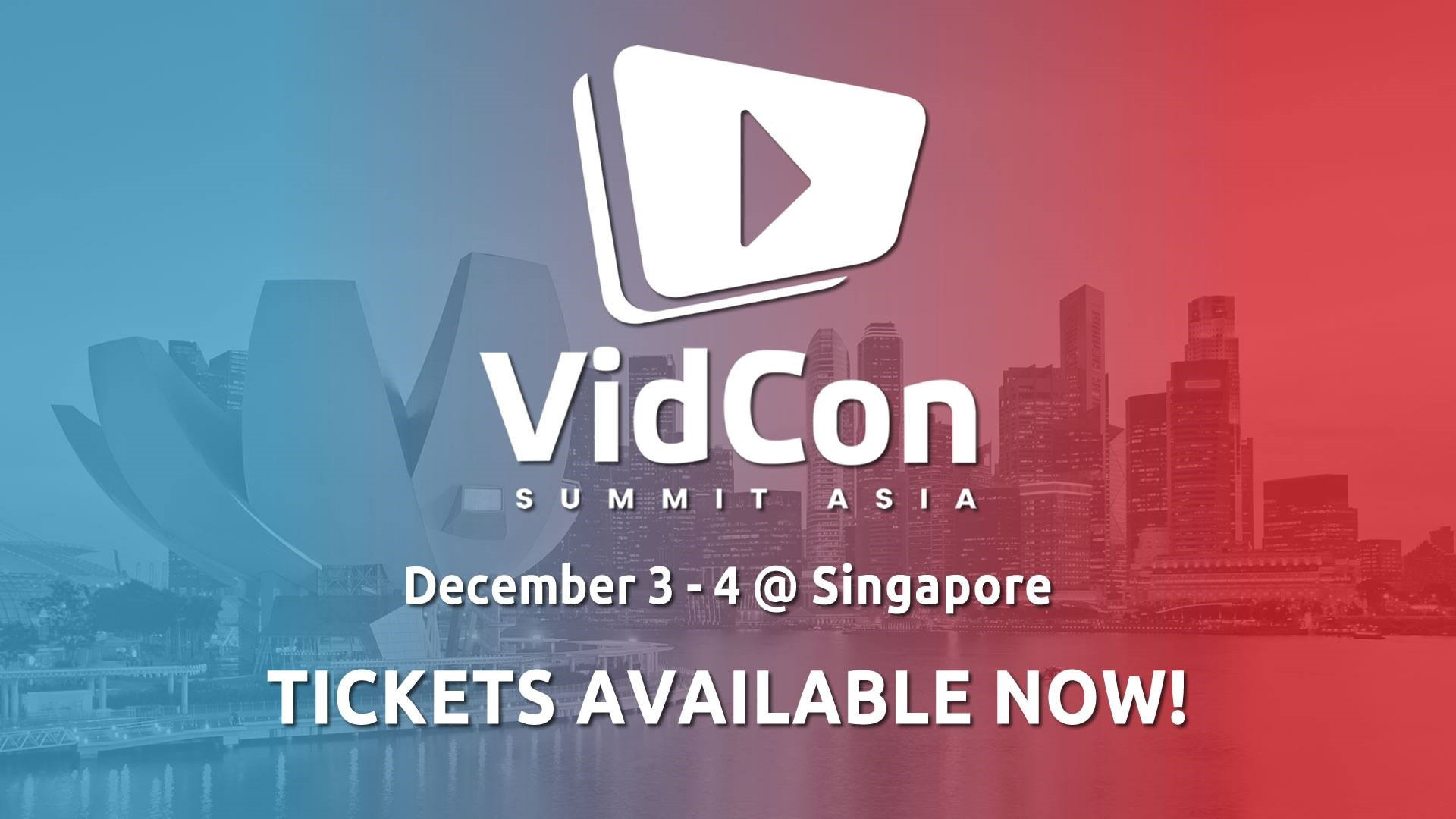 VidCon Summit Asia 2019