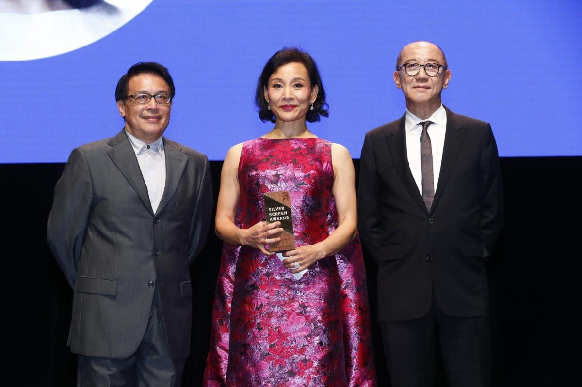 Actress Joan Chen recipient of the SGIFF Cinema Legend Award