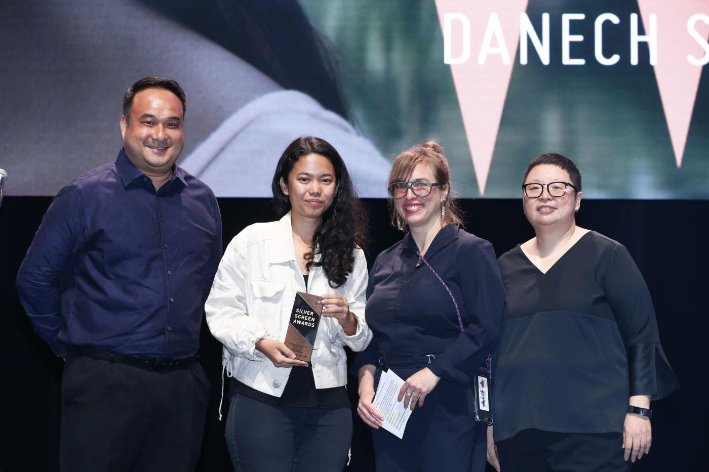 Danech San winner of Best Southeast Asian Short Film