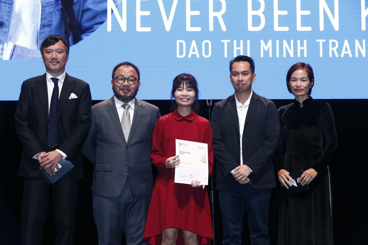 Dao Thi Minh Trang winner of Most Promising Project of the Southeast Asian Film Lab