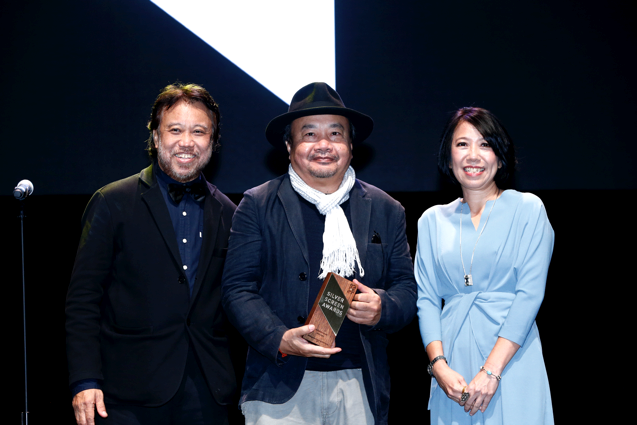 Filmmaker Rithy Panh, recipient of the SGIFF Honorary Award