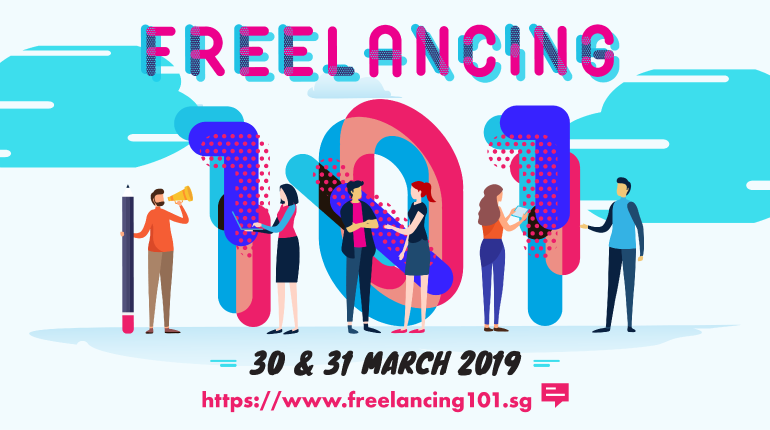 Freelancing 101, IMDA, CreativeAtWork, PIXEL