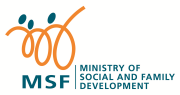 Ministry of social and family development logo