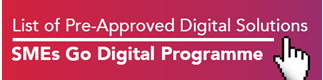 List of Pre-approved digital solutions
