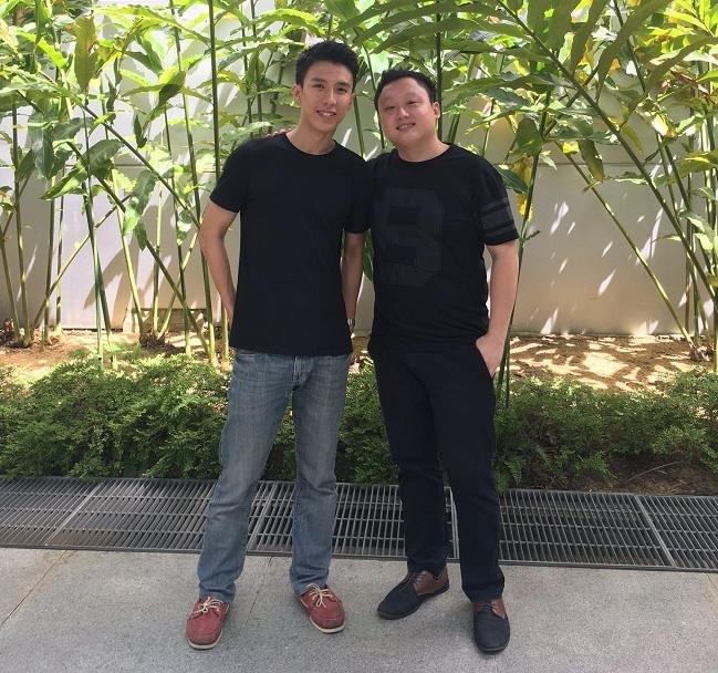 11th Hour founders Tan Jun Yuan Left and Lim Ting Hong