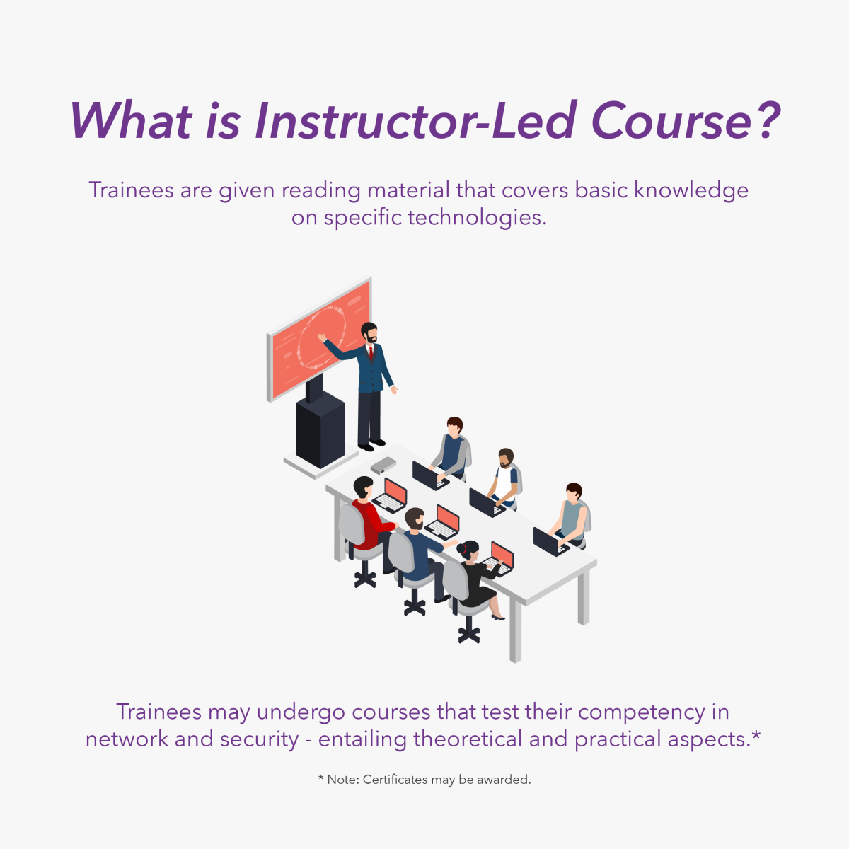 what is instructor-led course