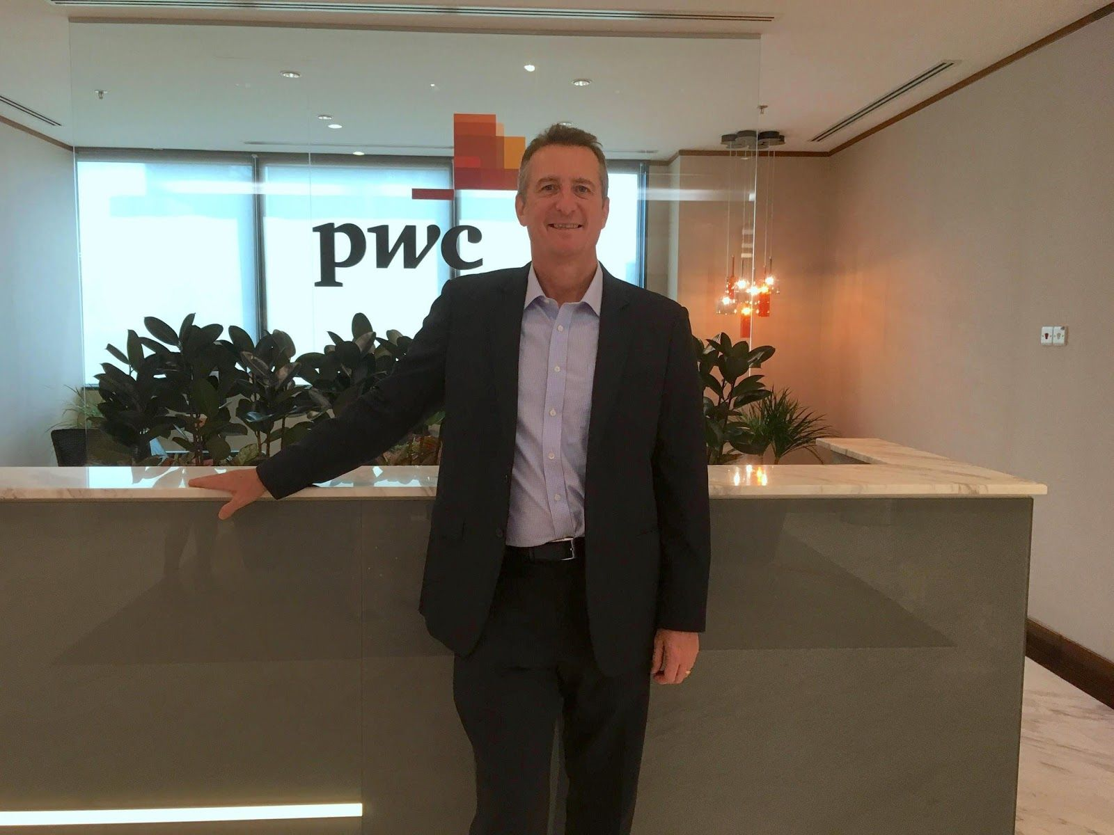Greg Unsworth, digital business leader at PwC
