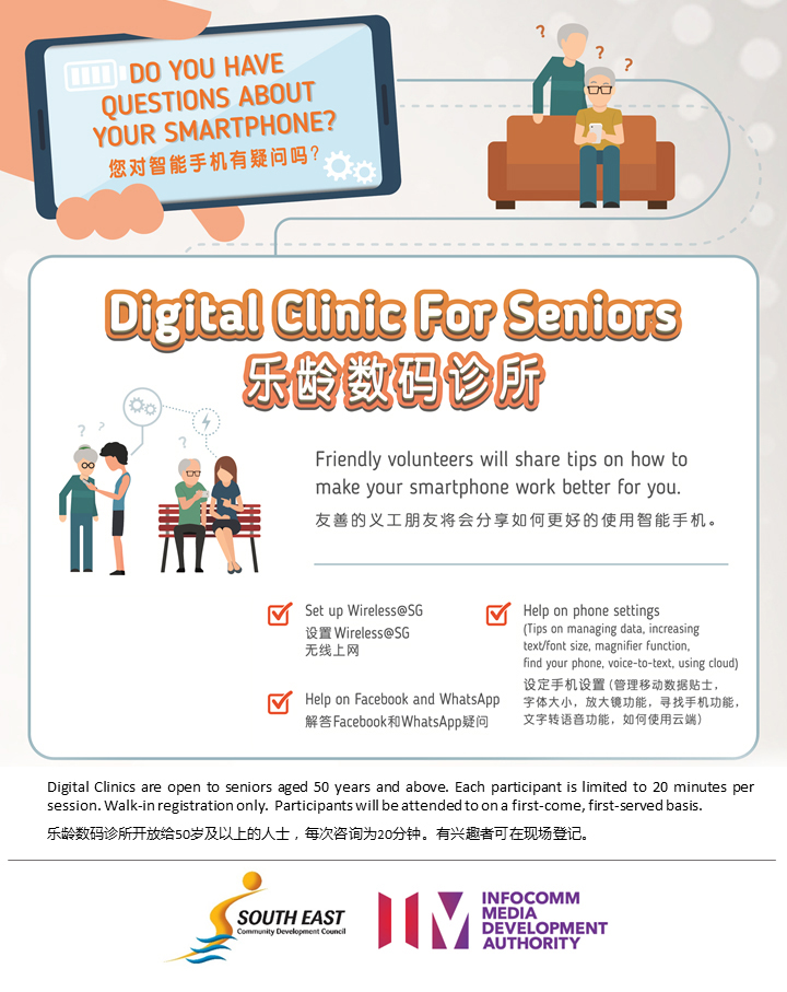 General poster for Digital Clinic