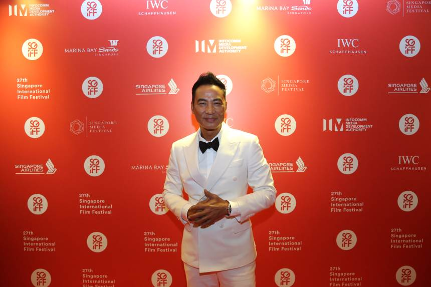 Cinema Legend Award Recipient Simon Yam